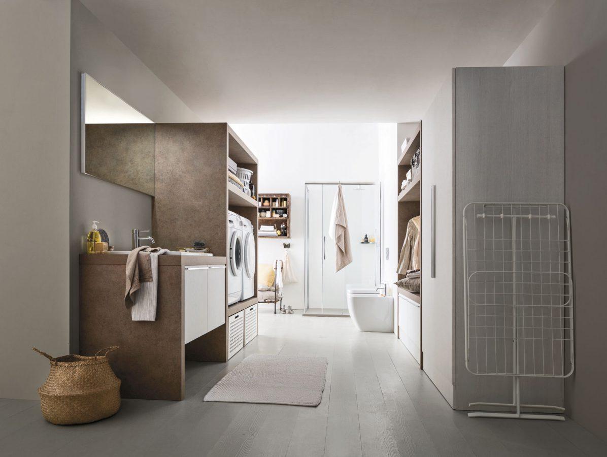 mobili e arredamento per la lavanderia del tuo bagno - arredobagno - Arredo Bagno Villafranca Di Verona