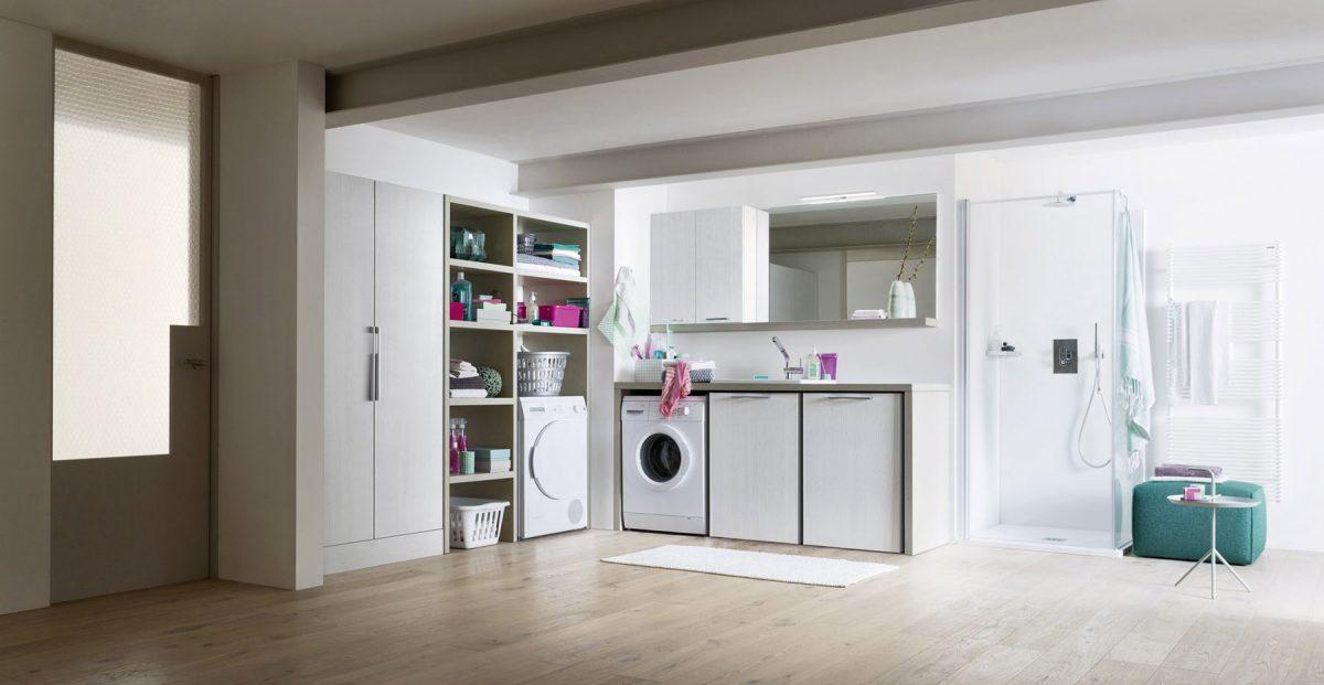 Mobili e arredamento per la lavanderia del tuo bagno - Mobili per lavanderia di casa ...