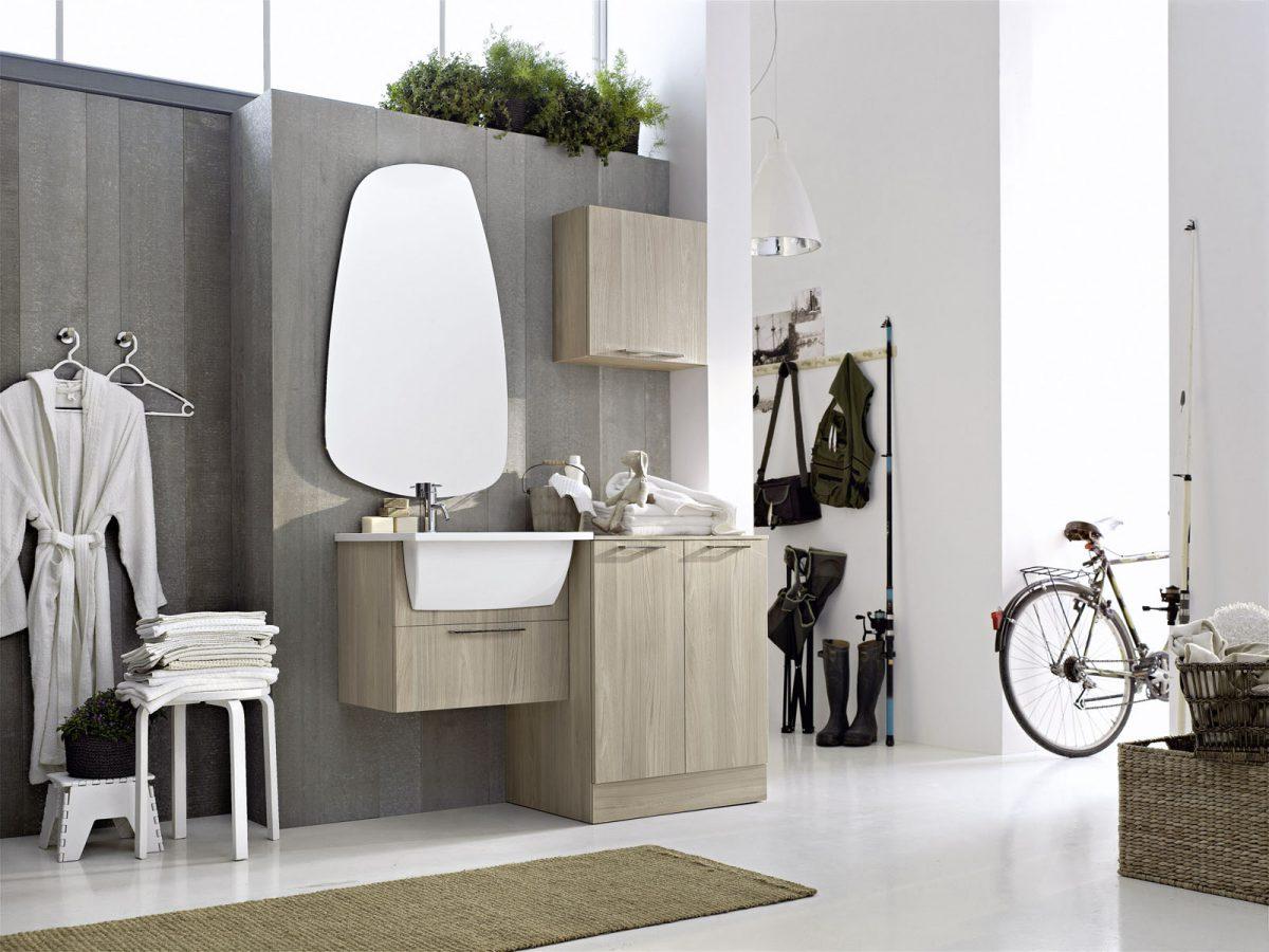 Mobili e arredamento per la lavanderia del tuo bagno for Mobili e arredamento